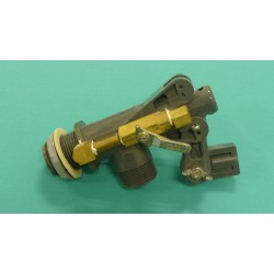 """1"""" Manual Continuous Flow Valve with Ball Valve"""
