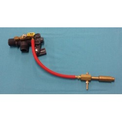 """1"""" Auto Continuous Flow Valve with Ball Valve (Submersed Valve)"""