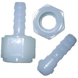 "1/4"" x 1/4"" Hose Swivel Nylon"